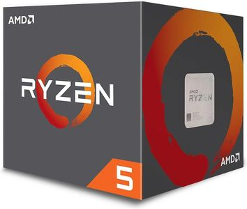 AMD Ryzen 5 1600 Processor,  Socket-AM4,  3.2GHz, inkl kylare (YD1600BBAEMPK)