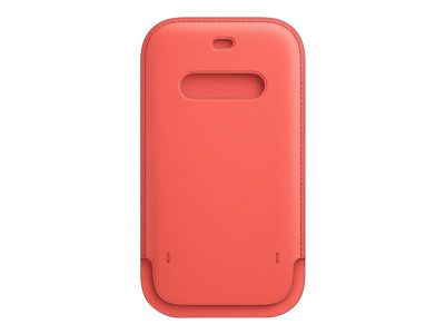 APPLE Leather Sleeve with MagSafe for iPhone 12/12 Pro Rosa (MHYA3ZM/A)