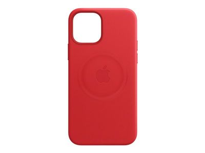 APPLE IPHONE 12 PRO LEATHER CASE WITH MAGSAFE - (PRODUCT)RED (MHKD3ZM/A)