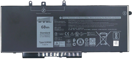 DELL Battery 68Whr 4Cell (GD1JP)