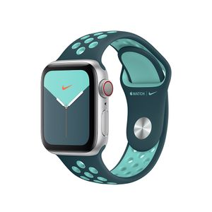 APPLE 40mm Turquoise/ Green Nike Sport Band Regular (MXQX2ZM/A)