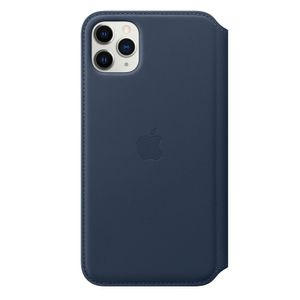 APPLE iPhone 11 Pro Max Leather Folio D. Sea Blue (MY1P2ZM/A)