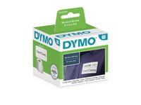 DYMO Freight Labels 101x54mm 220 stk pr rulle perm.