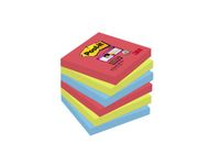 POST-IT Notes Super Sticky 654 Bora Bora 76 x 76mm Pk/6