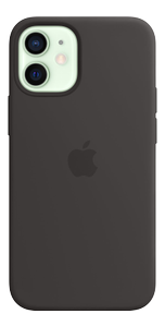 APPLE iPhone 12 Mini Sil Case Black (MHKX3ZM/A)