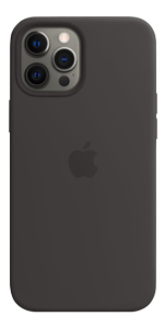APPLE iPhone 12 Pro Max Sil Case Black (MHLG3ZM/A)