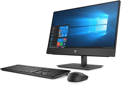 HP ProOne 440 G5 AiO NT i5-9500T 23.8inch 8GB DDR4 256GB SSD AC+BT Webcam DVD+/-RW W10P 1YW (ML) (7EM61EA#UUW)