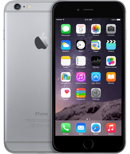 APPLE IPHONE 6 PLUS SPACE GRAY 16GB (MGA82QN/A)