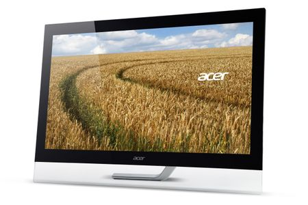 ACER T232HLAbmjjz 23inch LED IPS 1920x1080/ 60Hz VGA 2xHDMI/ MHL VESA 100 10 point touch screen Win 8 Speakers 2 Years Carry In (UM.VT2EE.A01)