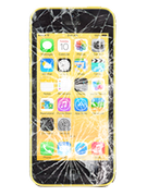 APPLE iPhone 5C skjerm sort (iphn5csrt / 1738)