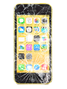 APPLE iPhone 5C skjerm sort