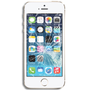 APPLE iPhone 5S skjerm sort