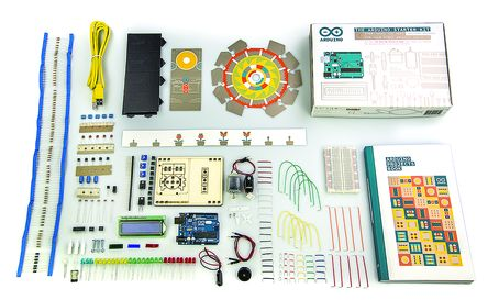The Arduino Starter Kit with UNO board (K000007)