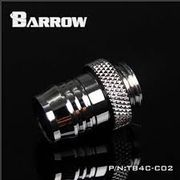 Barrow Barbed fitting 1/2 ID Sølv