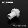 Barrow Barbed fitting 3/8 ID Hvit