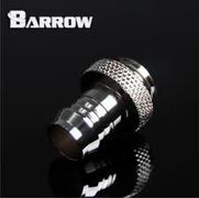 Barrow Barbed fitting 3/8 ID Sølv