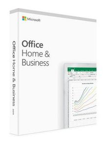 MICROSOFT OFFICE HOME AND BUSINESS 2019 NO EUROZONE MEDIALESS            NO PKC (T5D-03211)