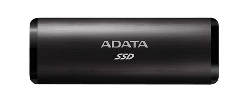 A-DATA SE760 512GB External SSD USB-C 3.2 BLACK (ASE760-512GU32G2-CBK)