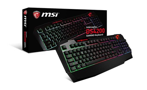 MSI Interceptor DS4200 Gaming Keyboard, Nordic (S11-04DN207-O30)