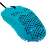FOURZE PC GM800 RGB Gaming Mouse - Turquoise (FZ-GM800-003)