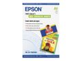 EPSON INKJET PAPER WITH PHOTO QUALITY A4 10 SHEETS SELF ADHESIVE NS