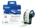 BROTHER Label roll/white 29mmx30,48m f QL-series