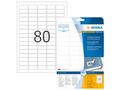 HERMA Labels white  35,6x16,9 mm 10003
