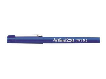 ARTLINE Fineliner Artline 220 SF 0.2 blå (EK-220 blue*12)