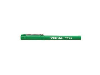ARTLINE Fineliner Artline 220 SF 0.2 grøn (EK-220 green*12)