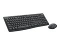 LOGITECH MK295 SILENT WIRELESS COMBO GRAPHITE - PAN - NORDIC          ND WRLS