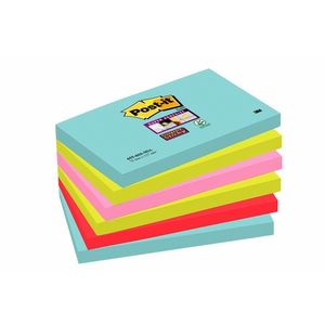 3M Super Sticky Notes Miami 76x127 (6) (7100095122)