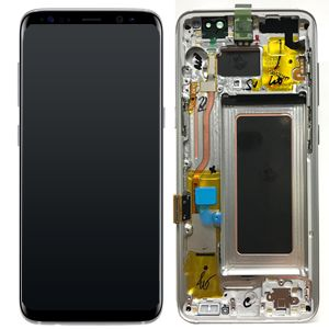 SAMSUNG Mea Front Octa LCD Silver (GH97-20457B)