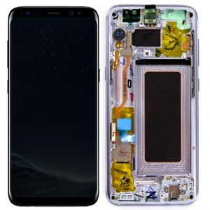 SAMSUNG Mea Front Octa LCD Violet (GH97-20470C)