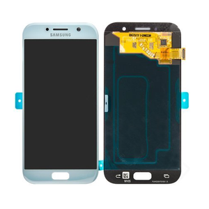 SAMSUNG Front LCD Asm Blue SM-A520 Galaxy A5 2017 Factory Sealed (GH97-20135C)