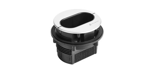 Atlona Pocket™ Series Architectural Cable Access Enclosure for Three Cables (AT-PKT-3H)