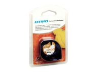 DYMO LetraTAG Opstrijkbare tape wit 12mm (S0718850)