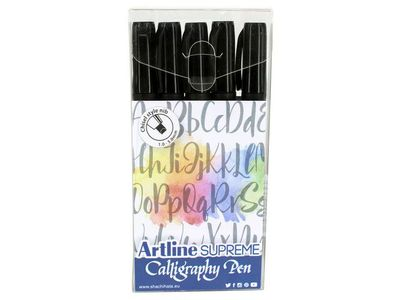 ARTLINE Supreme Calligraphy Pen 5/set black (EPF-240/5W/1)