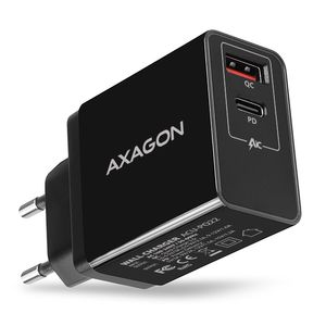 AXAGON Wall Charger QC3.0/ AFC/ FCP + PD Type-C. 22W Factory Sealed (ACU-PQ22)