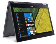 """ACER Spin 5 SP513-55N 13,5"""" 2K touch (360 nits) Iris Xe Graphics, Core i7-1165G7, 16 GB RAM,1 TB SSD, Active Pen, Windows 10 Home (NX.A5PED.004)"""