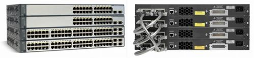 CISCO Switch/ C3750V2 24 10/100 PoE+2SFP Std Im (WS-C3750V2-24PS-S $DEL)