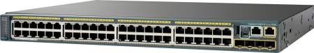 CISCO Switch/ 2960S 48 GigE PoE 740W 4 SFP LAN (WS-C2960S-48FPS-L $DEL)