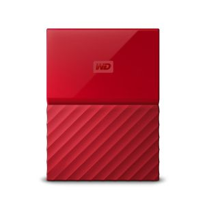 WESTERN DIGITAL HDD EXT My Pass 1TB 2.5 Red WorldWide (WDBYNN0010BRD-EEEX)