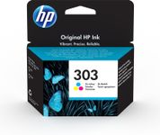 HP 303 Tri-colour Ink Cartridge (T6N01AE#ABE)