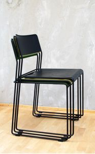 JENSENplus K2 Chair, black/ black (K2CHBB)