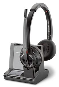 POLY SAVI W8220/A UC 3IN1 On-the-head Stereo headset, DECT (207325-12)