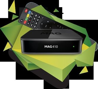 MAG 410 ANDROID IPTV SET TOP BOX INTERNET TV (mag410iptv)