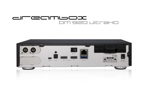 DREAMBOX DM920 UHD 4K DUAL C/T2 PVR Ready (dm920hdct2)