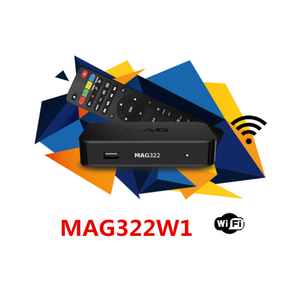 MAG 322W1 WLAN WIFI 150M INTEGRIERT HEVC H.256 SUPPORT SET TOP BOX (MAG-322-W1)