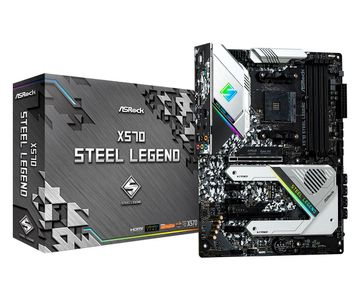 AS-Rock MB ASRock X570  Steel Legend          AM4 ATX   HDMI/DP DDR4 retail (90-MXBAR0-A0UAYZ)
