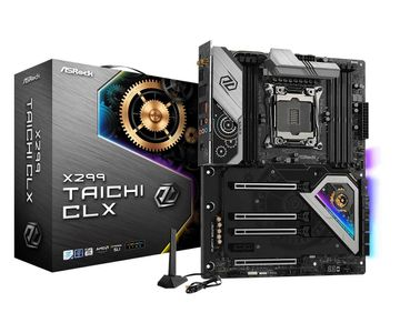 AS-Rock MB ASRock X299 Taichi CLX         2066 ATX              DDR4 retail (90-MXBBH0-A0UAYZ)